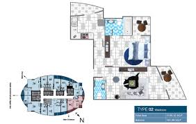 o2 tower floor plans