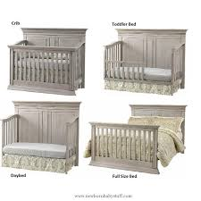Baby Cache Convertible Crib Baby Accessories Baby Cache Vienna 4 In 1 Convertible Crib Ash Gray