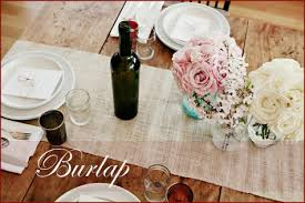 diy table runner ideas for the love of burlap easy diy table runners pepper design blog