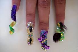 mardi gras nail hairshow mardi gras nails by bretagne on deviantart