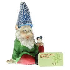 Gnome Ornament Christmas Garden Gnome Funny Gnome Christmas Ornament Statues Cheery Gnome