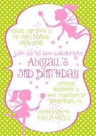 fairy party invitations cimvitation