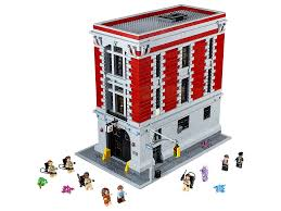 Lego Headquarters Photos Of 75827 Ghostbusters Firehouse Headquarters Finally