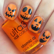 halloween nails design easy image collections nail art designs