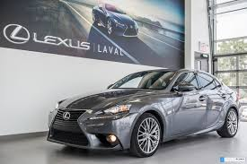 lexus is nebula gray pearl pre owned 2014 lexus is 250 premium camera in laval pre owned