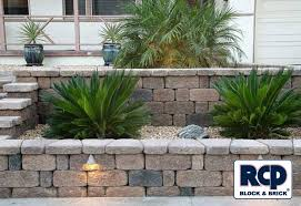 front yard planter designs raised planter retaining wall front
