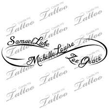 i finally found the ink i want on my wrist with my babies names