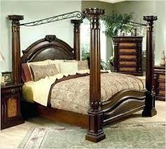4 Post Bed Frame 4 Post Bed Poster Bed Frame Marvellous 4 Post Bed