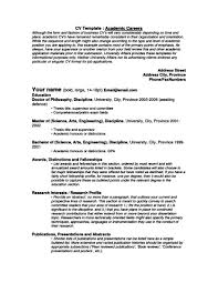 examples of resumes for restaurant jobs resume academic resume for your job application writing academic resume