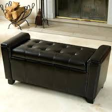 Bench Ottoman With Storage Sophisticated Storage Bench Ottoman Taptotrip Me