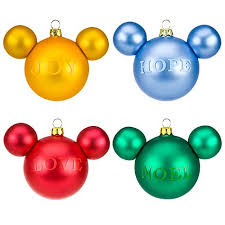 christmas ornament sets your wdw store disney christmas ornament set mickey mouse icon