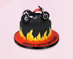 motorcycle cake bike chocolate fondant cake delivery