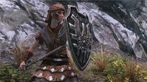 sword and shield of roto at skyrim nexus mods and community
