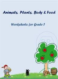animals plants body and food worksheets for grade 1 by