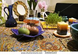 Iranian New Year Table Decoration by Nowruz Stock Images Royalty Free Images U0026 Vectors Shutterstock