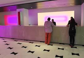 Reception Desk Miami Fontainebleau Resort Spa Review 5 Of 7 Hotels In 7 Days Miami