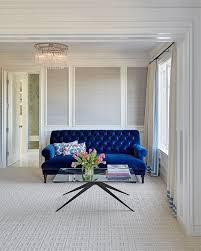 excellent navy blue sofa and loveseat ion wide blue velvet sofa