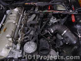 bmw e36 3 series intake manifold removal 1992 1999 pelican