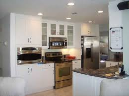 remodeled kitchens with white cabinets inspiring living room