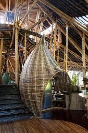 dramatic bamboo house in bali idesignarch interior design