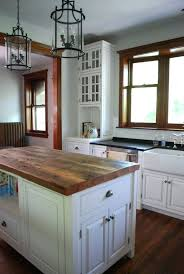 kitchen island painted island with wood top painted kitchen