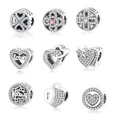 charm bracelet silver charms images Fits original pandora charm bracelet 925 sterling silver charms jpg