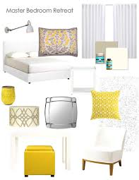 grey yellow white bedroom home decorating interior design bath