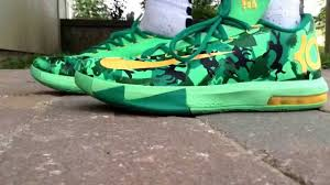 kd 6 easter nike kd 6 easter edition unboxing and review on foot