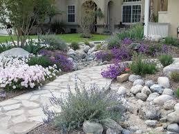 coastal no lawn garden perennials flowers landscaping