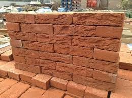 50mm orange ornamental bricks in buckingham