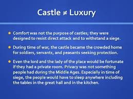 Seeking Castles The Castle E Q What Is The Importance Of The Castle In