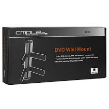 Wall Mounted Dvd Shelves by Adjustable Two Shelf Dvd Set Top Box Wall Mount