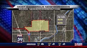 Las Vegas Crime Map By Zip Code by Two Indianapolis Neighborhoods Ranked Among Nation U0027s Most