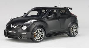nissan black car black nissan juke r 2 0 matt autoart 77458 die cast scale 1 18