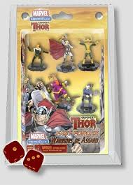 marvel heroclix miniatures hammer of thor fast forces 6 pack
