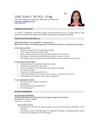 Sample Resume Philippines by Sample Cpa Resume Philippines Contegri Com