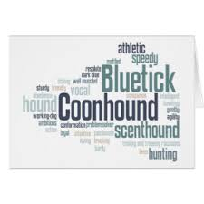 bluetick coonhound nz bluetick coonhound greeting cards zazzle co nz