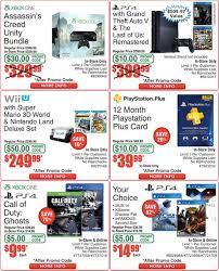 gamestop black friday deals neogaf fry u0027s black friday ad xb1 bundle for 299 wii u bundle for