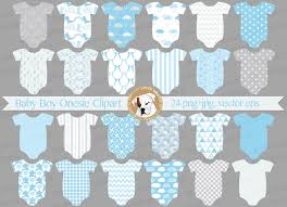 baby boy blue onesies clipart baby shower invitation baby
