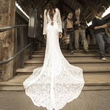 robe de mari e simple dentelle dos nu dentelle simple robe de mariée