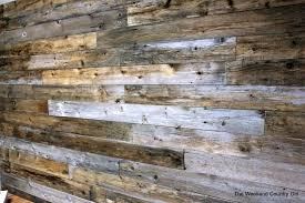 took two hours put reclaimed wood wall dma homes 4245