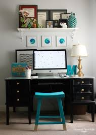 Chic Office Desk Before After Cluttered Office Goes Chic