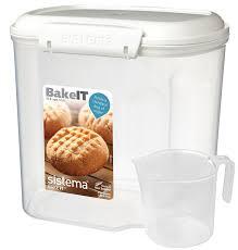 baking container storage amazon com sistema bake it food storage for baking ingredients