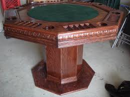 how to build a poker table table