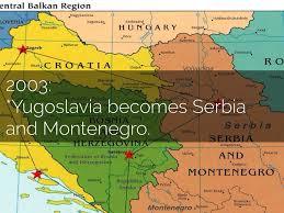 Yugoslavia Map Yugoslavia Breakup By Alexis Violette