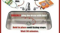 Drano Kitchen Sink by Interesting 20 How To Unclog A Kitchen Sink Without Drano Decorating Design Of 33 Best Drain Unclogging Images On Pinterest Household Tips 236x130 Jpg