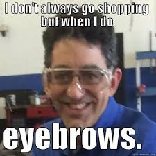 Bushy Eyebrows Meme - bushy bee quickmeme