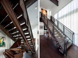 architecture artistic staircase moden village house design
