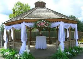 Pergola Wedding Decorations by Best 20 Gazebo Wedding Decorations Ideas On Pinterest Wedding