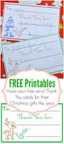 children u0027s christmas thank you cards our thrifty ideas